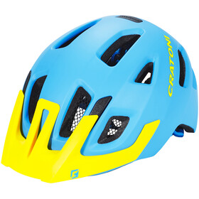 Cratoni Maxster Pro Helmet Kids blue-yellow matt